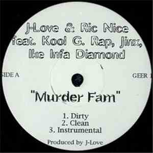 J-Love & Ric Nice Feat. Kool G Rap, Jinx & Ike Infa Diamond - Murder Fam download free